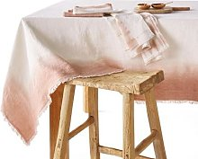 Am.pm Sunrise Tablecloth In Tie Dye Linen