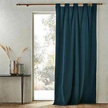 Am.pm Taya Pure Cotton Velvet Curtain