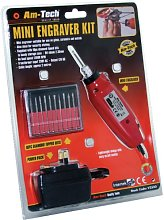Am Tech Mini Engraver Kit With DC Adaptor Ideal