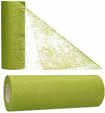 AmaCasa Table Runner Olive Green | Non Woven for