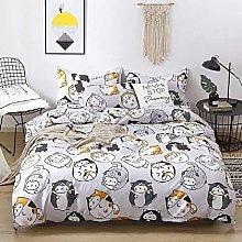 Amacigana Cat Children's Bed Linen Set Grey