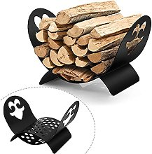 """Amagabeli Fireplace Log Holder 19""""x13""""x12"""""""