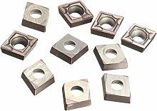 Amagogo 10Pieces CCMT060204 Carbide Insert Cutter