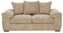 Amalfi 2 Seater Scatter Back Fabric Sofa