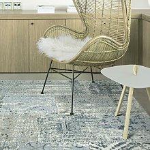 Amalfi Blue/Green 80x150cm Large Rug Living Room