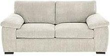Amalfi Standard 2 Seater Fabric Sofa - Silver