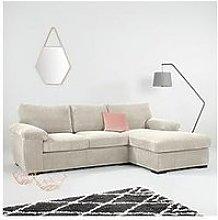 Amalfi Standard 3 Seater Fabric Right Hand Chaise