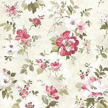 Amalia Floral Garden 10m x 52cm Wallpaper Roll