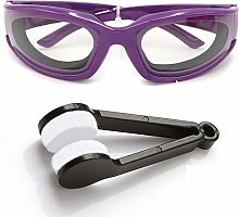 Amaoma Onion Goggles Tearless Glasses Eye Protect