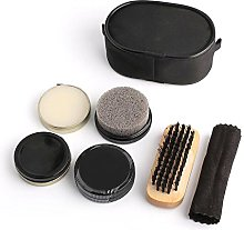 Amaoma Portable Shoe Polish Kit Shoe Shine Kit,