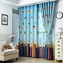Amaone 1pc Childrens Curtains For Bedroom,