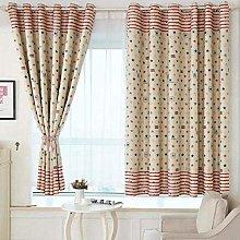 Amaone 1pc Eyelet Curtains, Blackout Curtain Stars