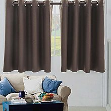 Amaone Curtains For Bedroom, 2 Panels Blackout