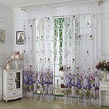 Amaone Curtains For Living Room, Eyelet Curtain