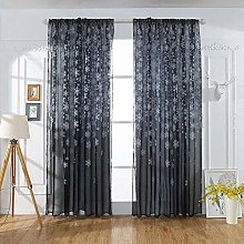 Amaone Eyelet Curtain, Blackout Curtains Voile