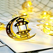 Amaone Fairy String Lights, 10LED Moon Muslim
