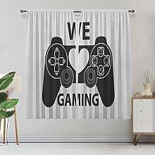 Amazing Gamer Room Darking Curtains, We Love