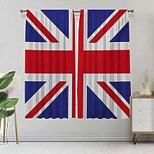 Amazing Union Jack Blackout Curtains, Classic Flag