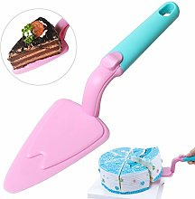 AMAZING1 Pink and Blue Plastic Cake Slicer with
