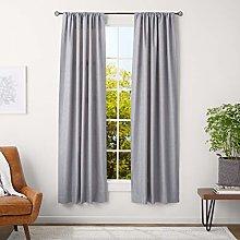 Amazon Basics 1.6 cm Curtain Rod with Cage