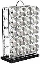 Amazon Basics 20-Jar Vertical Spice Rack