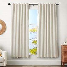 Amazon Basics 3 cm Curtain Rod with Cap Finials,