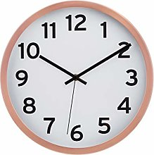 Amazon Basics 30.5 Numbered Wall Clock, Copper