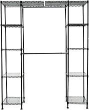 Amazon Basics Expandable Closet Organizer - Black