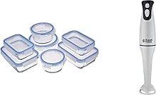 Amazon Basics Glass Locking Food Storage