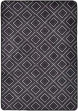 Amazon Basics Printed Foam Rug, Dotted Line - 140
