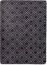 Amazon Basics Printed Foam Rug, Dotted Line - 160