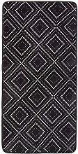 Amazon Basics Printed Foam Rug, Dotted Line - 70 x