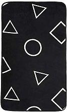 Amazon Basics Printed Foam Rug, Shapes - 60 x 100