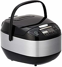 Amazon Basics Rice Cooker, Multi-Function with