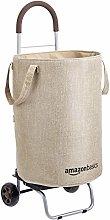 Amazon Basics Rolling Laundry Basket Cart Converts