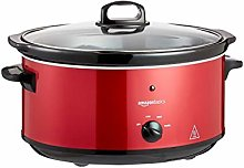 Amazon Basics Slow Cooker with 3 Heat Settings and
