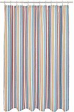 Amazon Basics Striped Shower Curtain - Terracotta