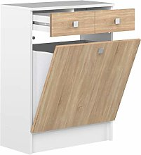Amazon Brand -Amazon Basics - 2-Drawer 1-Door
