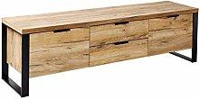 Amazon Brand - Movian Ems 2-Door 2-Drawer TV Stand