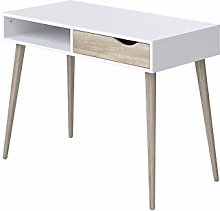 Amazon Brand -Movian Havel 1-Drawer Desk with