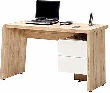 Amazon Brand - Movian Maggiore 2-Drawer Desk, 130