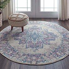 Amazon Brand - Movian Mesta, Round area rug, 160