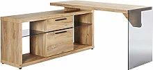 Amazon Brand -Movian Salto 2-Drawer Corner Desk
