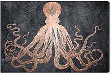 Amazon Brand - Rivet Wall Art: 'Squid