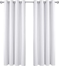 Amazon Brand - Umi Curtains for Living Room Solid