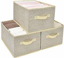 Amazon Brand – Umi Foldable Storage Boxes, Pack