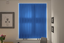 Amazon Dark Blue Replacement Vertical Blind Slats
