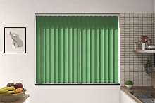 Amazon Forest Green Vertical Blind