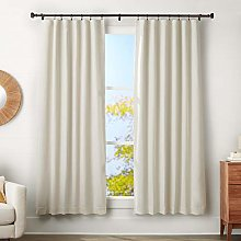 AmazonBasics 1 Inch Curtain Rod with Square