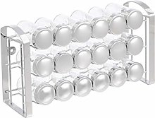 AmazonBasics 18-Jar Spice Organizer Rack